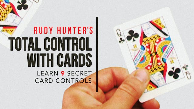Rudy Hunter's Total Control with Cards Full Volume - Download
