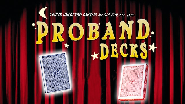 Learn All of the Proband Decks on MasterMagicTricks.com