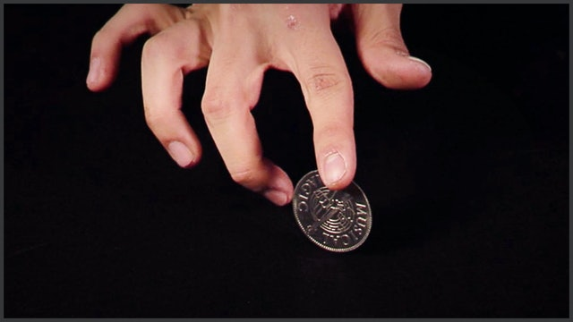First Finger Coin Spin
