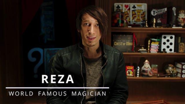 Magician Reza - Svengali Deck Intro