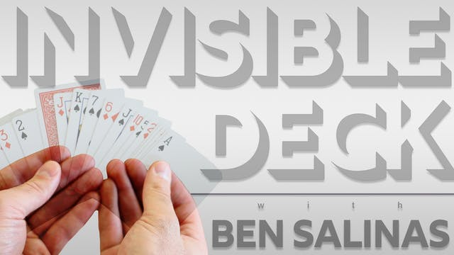 The Invisible Deck with Ben Salinas Full Volume - Download