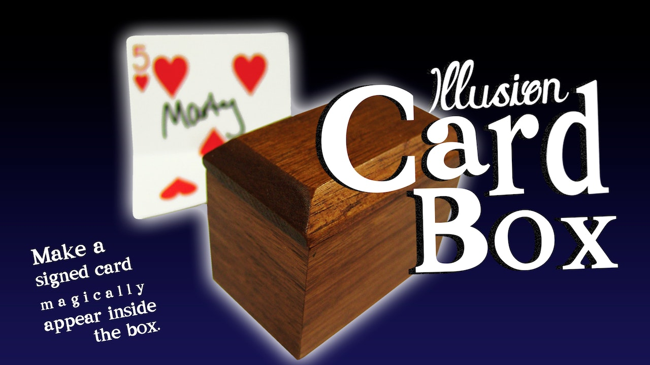 Learn the Illusion Card Box- Complete Collection on MasterMagicTricks.com