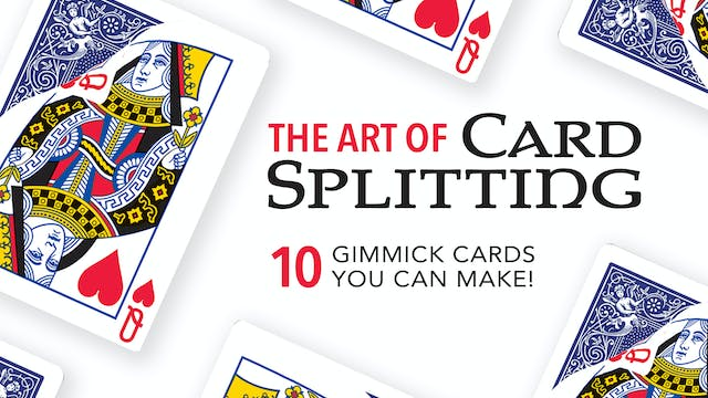The Art of Splitting a Card Instant Download