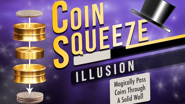 Learn Coin Squeeze on MasterMagicTricks.com