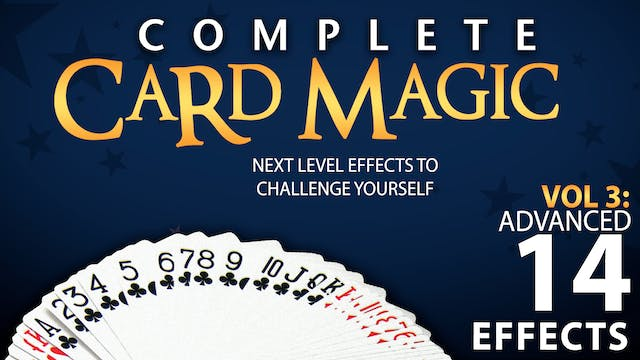 Complete Card Magic Volume 3: Advanced Full Volume - Download