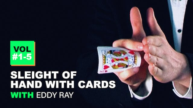 Sleight of Hand with Cards - Eddy Ray