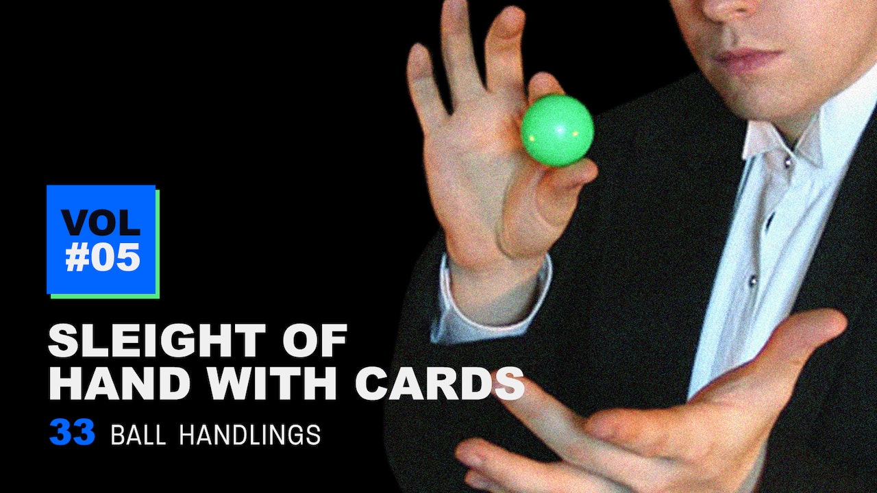 Sleight of Hand with Cards: Volume 5