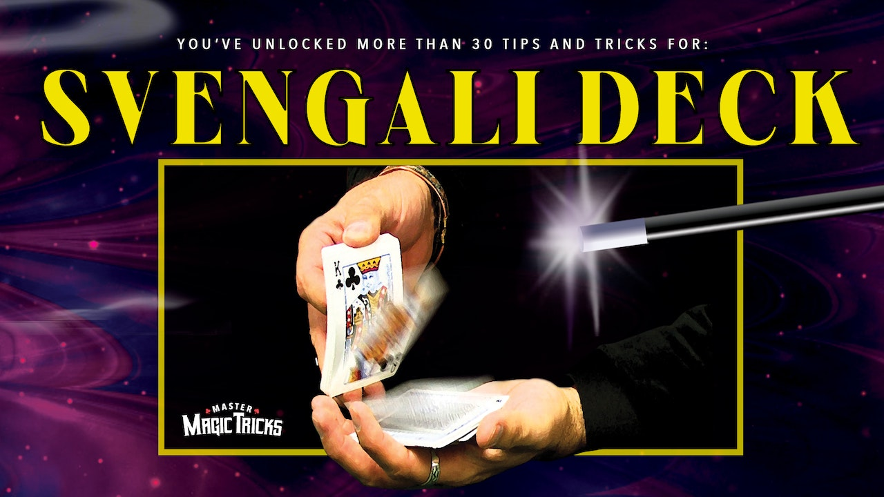 30 Tips & Tricks with Svengali Deck-The Complete Course on MasterMagicTricks.com