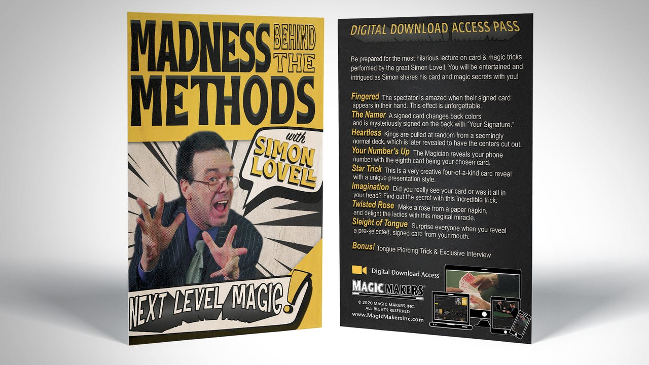 The Madness Behind the Methods with Simon Lovell