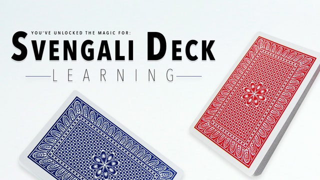 Svengali Deck - Learning