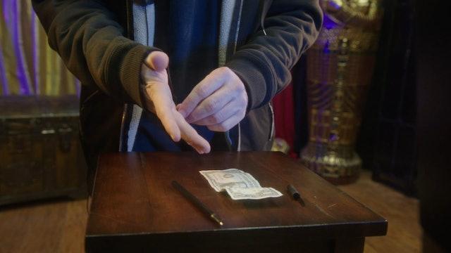 Bonus: Pen with Dollar Bill