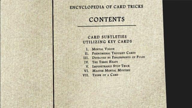Encyclopedia Chapter 3: Card Subtleti...