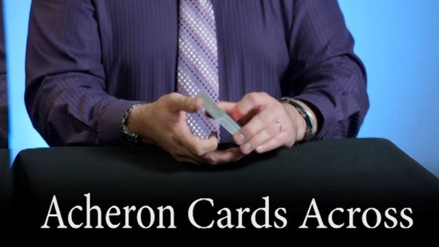 Acheron Cards Across