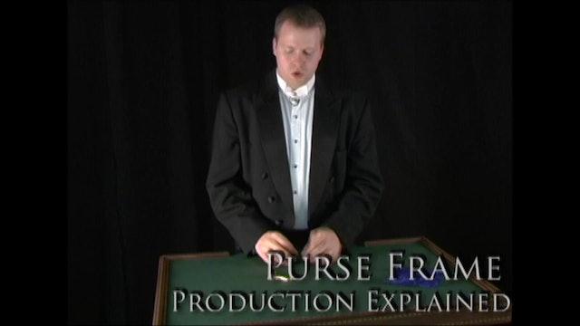 Purse Frame Production