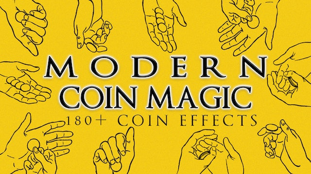 Modern Coin Magic All Volumes 180 Coin Effects