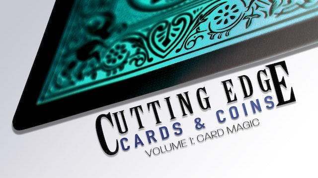 Cutting Edge: Cards & Coins - Volume 1