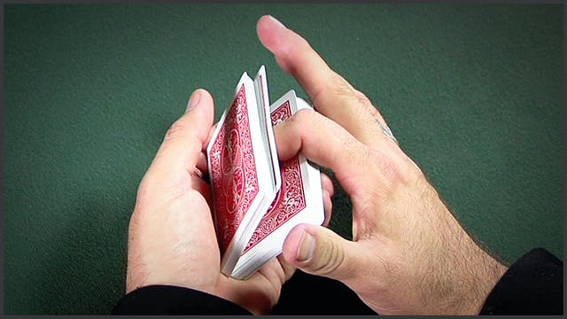 Underhanded Overhand Shuffle