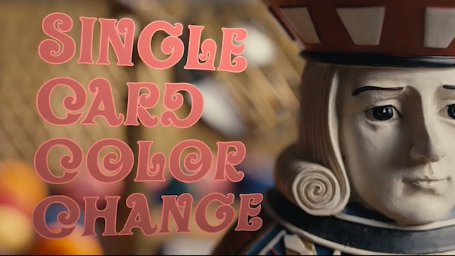 Single Card Color Change