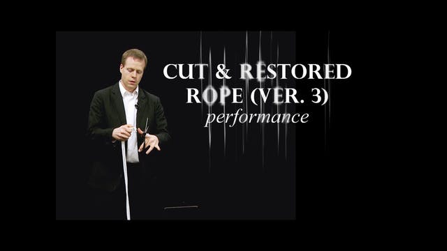 Cut and Restored Rope Version 3