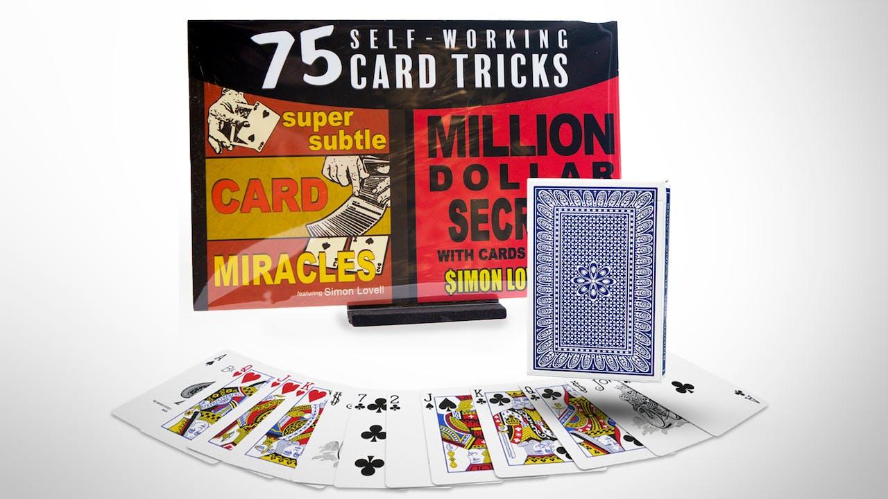 75 Self Working Card Tricks Combo