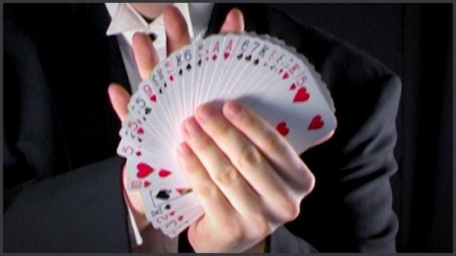 Robert Houdin's Diminishing Cards