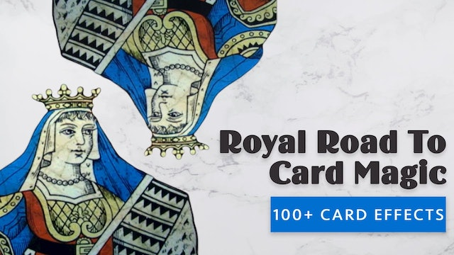 The Royal Road to Card Magic - Instant Download
