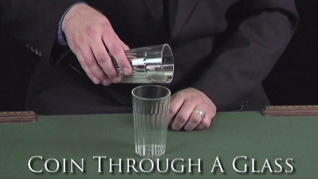 Coin Through a Glass