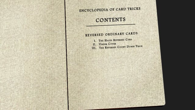 Encyclopedia Chapter 7: Reversed Ordi...