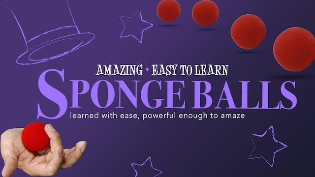 Amazing Series: Sponge Balls - Instant Download