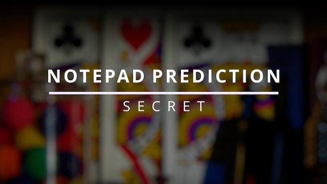 Notepad Prediction - Secret