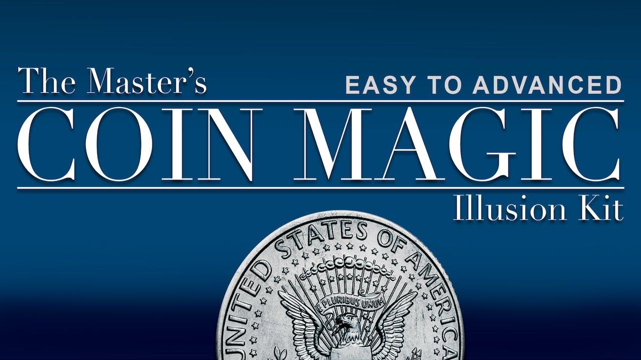 Master's Coin Magic Illusion Kit