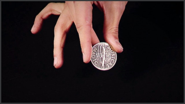 One Handed Coin Spin