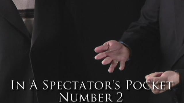 In a Spectator's Pocket Number 2