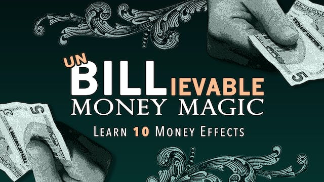 Unbillevable Money Magic with Brian Thomas Moore Full Volume - Download
