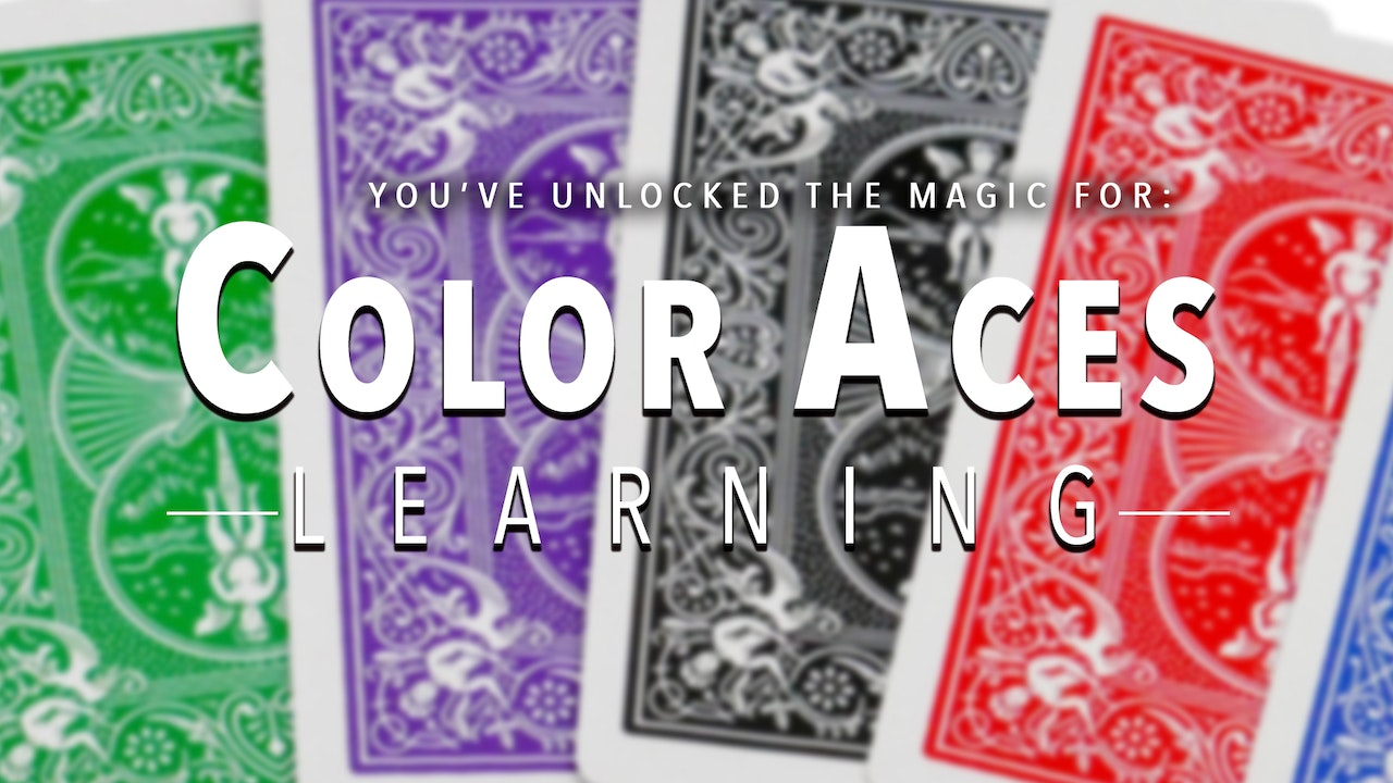 Learn Color Aces on MasterMagicTricks.com
