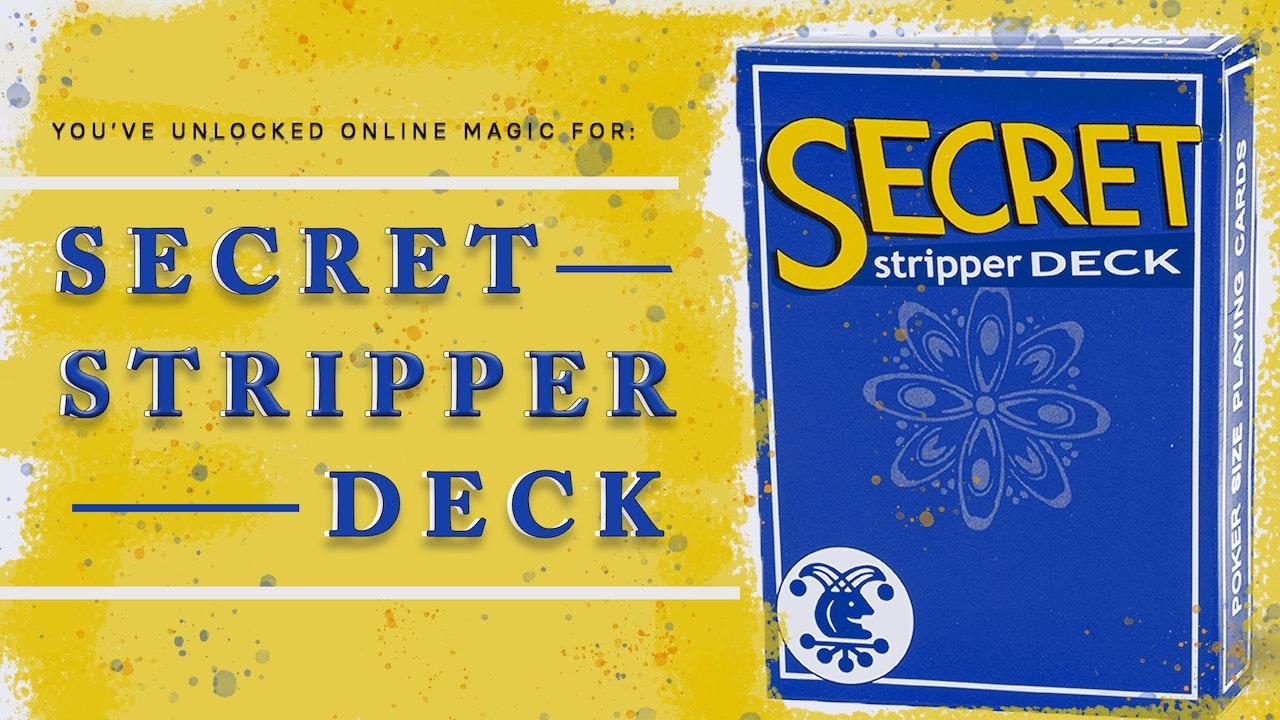 Learn the Adams Stripper Deck on MasterMagicTricks.com