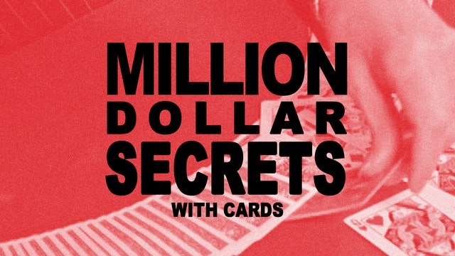 Million Dollar Secrets with Cards