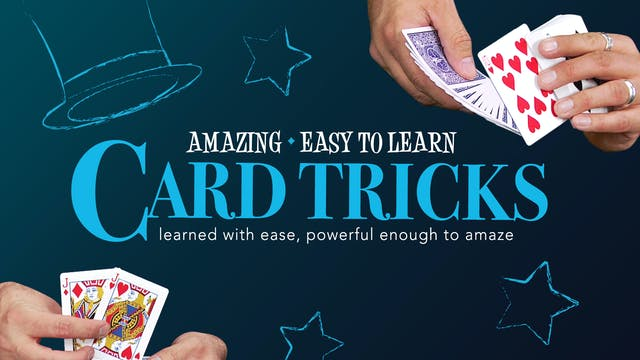 Amazing Series: Card Tricks Instant Download