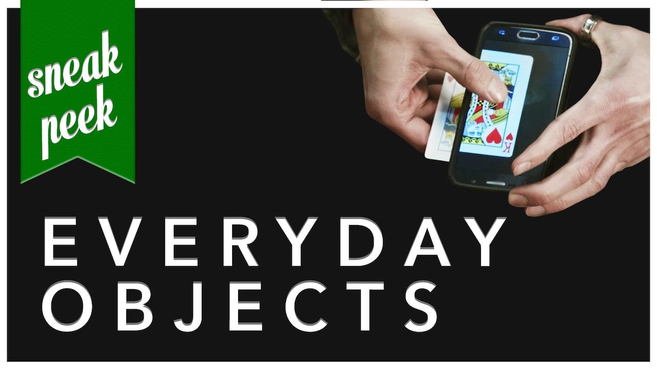Sneak Peek: Everyday Objects