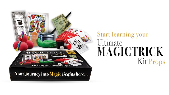 Learn Ultimate Magic Trick Kit Props