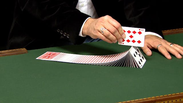 Turnover using a Card