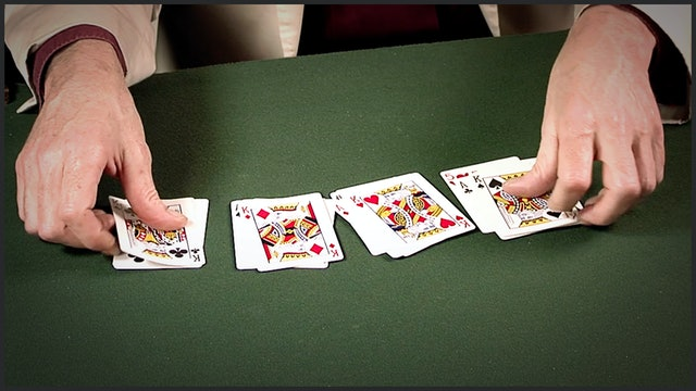 Daryl's Dream Card Four Ace Revelation