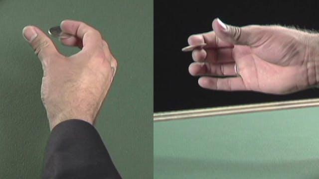 The Back Thumb Palm