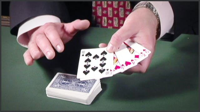 Retaining Cards at Top