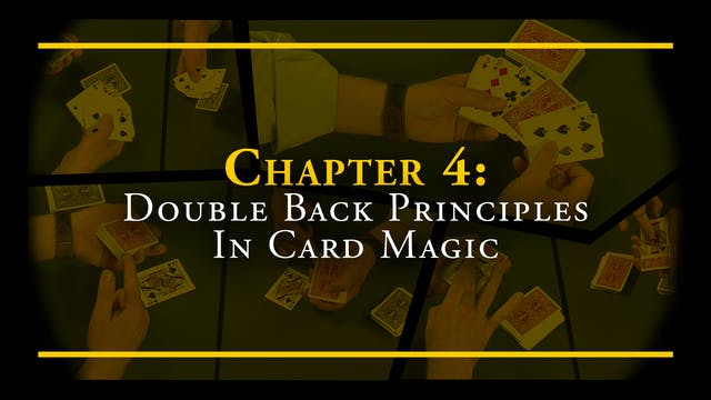 Chapter 4 - Double Back Principles in...