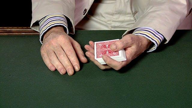 Overhand Top Card Control