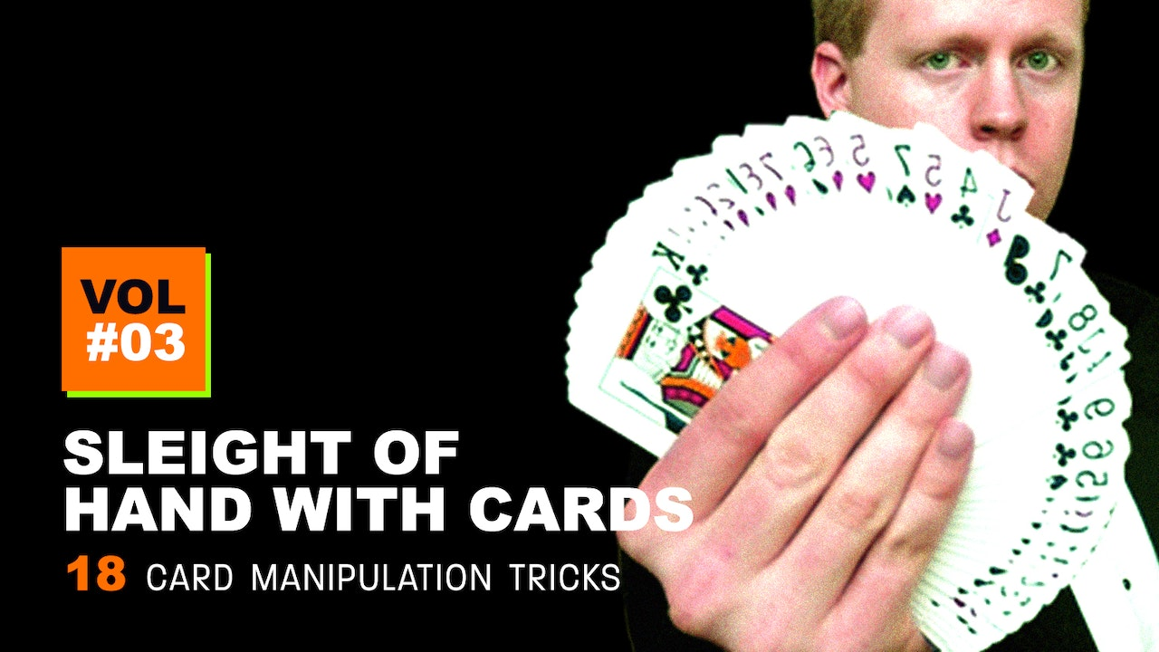 Sleight of Hand with Cards: Volume 3