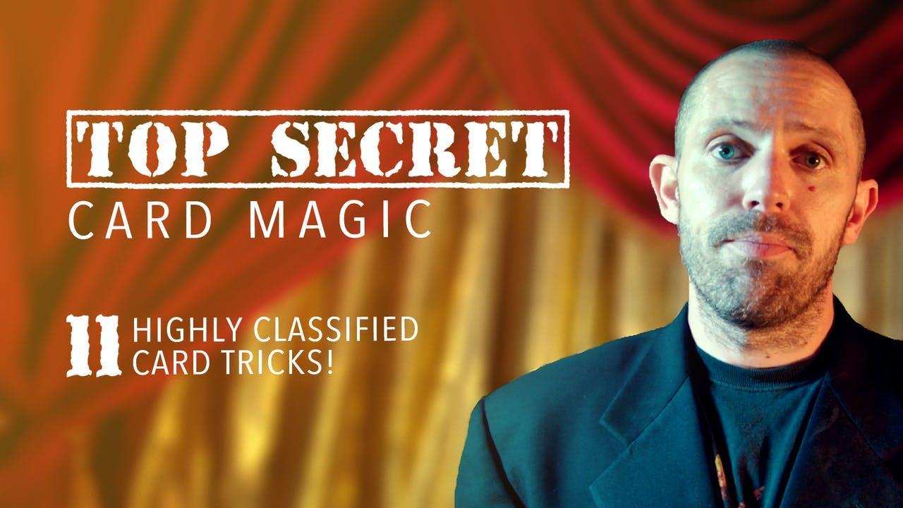 Top Secret Card Magic - Instant Download