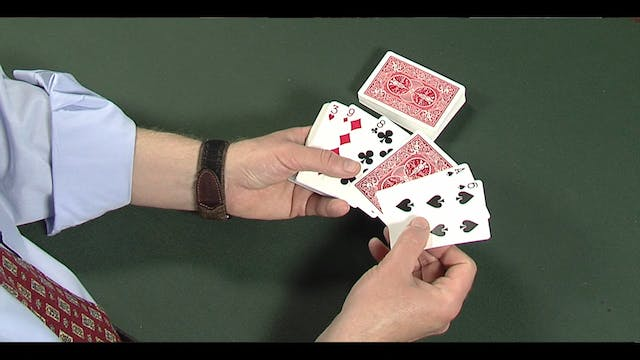 Double Back Card Force