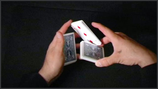 Swing Cut With Card Control